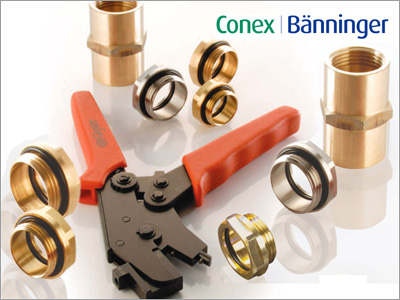 Conex-Oyster-Fittings von Polysan