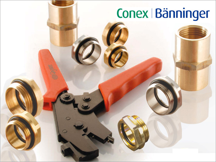 Conex OYSTER-Fittings bei POLYSAN