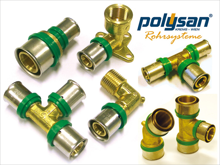 POLYSAN Messing-Press-System