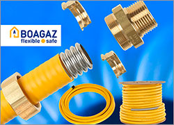 Boagaz flexible Gas-Wellrohre